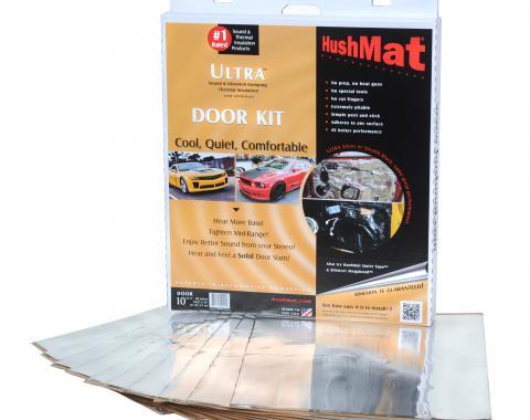 "HushMat Door Kit - Silver Foil with Self-Adhesive Butyl-10 Sheets 12"" x 12"" ea 10 sq ft 10201"