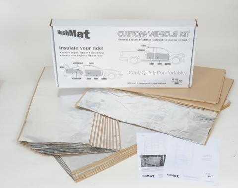 HushMat Flat Top Truck 63 in. Sleeper and Floor Custom Insulation Kit 81104