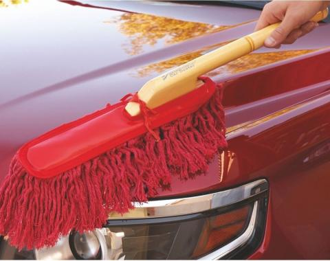 The Original California Car Duster, Wood Handle