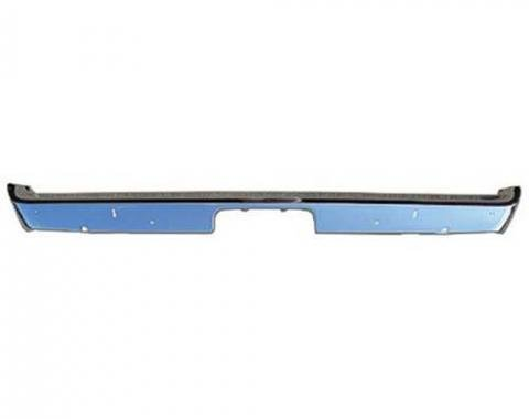 Challenger Rear Bumper, Premium Quality, USA Chrome, 1971-1972