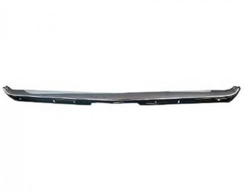 Challenger Front Bumper, Premium Quality, USA Chrome, 1971-1972