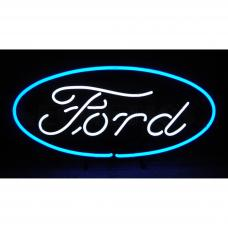 Neonetics Standard Size Neon Signs, Ford Oval Neon Sign
