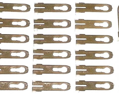 Mopar Vinyl Top Molding Trim Clip, 20 Piece Set