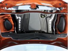 American Car Craft Hood Cap Upper Polished 333005