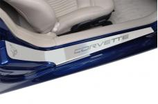 American Car Craft Doorsills Etched GM Licensed Satin 2pc 031012