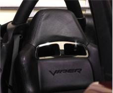 American Car Craft 2003-2010 Dodge Viper Sport Seat Trim Plates 2pc V4 971011