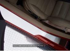 American Car Craft Doorsills Satin Outer Plain No Ribs 041016