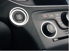 American Car Craft 2011-2013 Dodge Charger Dash Trim Rings Polished 3pc start/volume/tuner 331013