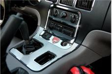 American Car Craft 1992-1995 Dodge Viper A/C & Radio Control Trim Ring Polished w/LOGO 951011
