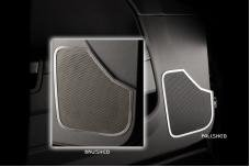 American Car Craft 2008-2014 Dodge Challenger Speaker Trim Front Door Satin 2pc 151025