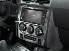 American Car Craft 2008-2014 Dodge Challenger Dash Trim Plate Satin Center w/Seat Warmer Buttons 151019
