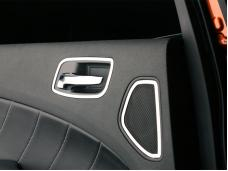 American Car Craft 2011-2013 Dodge Charger Door Handle Trim Rear Polished 2pc 331004
