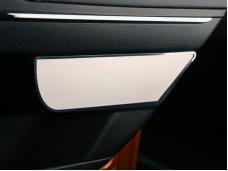 American Car Craft 2011-2013 Dodge Charger Door Badges Rear Satin 2pc 331009