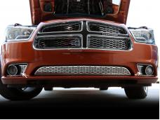 American Car Craft 2011-2013 Dodge Charger Fog Light Factory Overlays Polished 2pc 332007