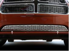 American Car Craft 2005-2013 Chevrolet Corvette Grille Lower Factory Overlay 1pc Polished 332006