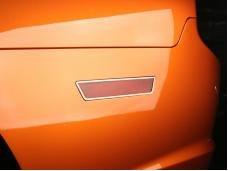 American Car Craft 2011-2013 Dodge Charger Side Marker Trim Polished 2pc 332003