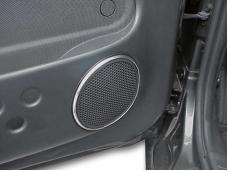 American Car Craft 2001-2005 Chrysler PT Cruiser Speaker Bezels Chrome Molding Convertible 4pc 711036