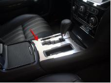 American Car Craft 2011-2013 Chrysler 300 Shifter Plate Center Dash 331020