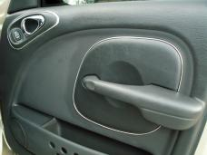 American Car Craft 2001-2005 Chrysler PT Cruiser Door Trim Kit Chrome Vinyl 8pc 711032