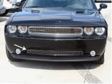 American Car Craft 2005-2013 Chevrolet Corvette Grille Satin Overlay Style Lower 11-12 152016