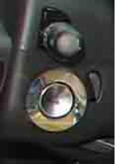 American Car Craft 2001-2005 Chrysler PT Cruiser Ignition Ring Polished 711013