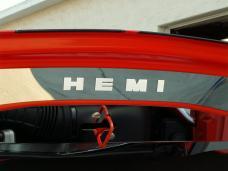 American Car Craft 2008-2014 Dodge Challenger Hood Cap Polished Upper 153002