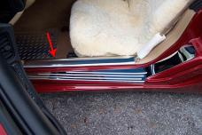 American Car Craft Doorsills Inner Polished 2pc 031014