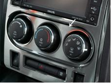 American Car Craft 2008-2014 Dodge Challenger A/C Control Trim Plate Satin 151018