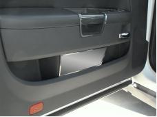 American Car Craft 2008-2020 Dodge Challenger Door Badge Plate Satin Plain 151010