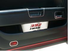 """American Car Craft 2008-2020 Dodge Challenger Door Badge Plate Satin """"392 Hemi"""" 151034"""