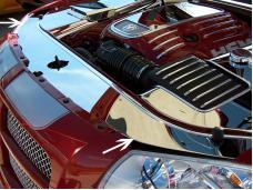 American Car Craft Radiator/Header Plate Polished Hemi 6.1L / 5.7L / 3.5L 303025