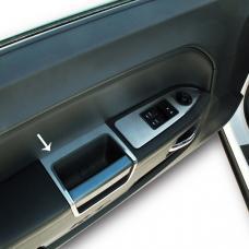 American Car Craft 2008-2014 Dodge Challenger Door Handle Pull Satin 2pc 151003