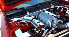 American Car Craft Firewall Polished SRT 8 w/Cap 303012