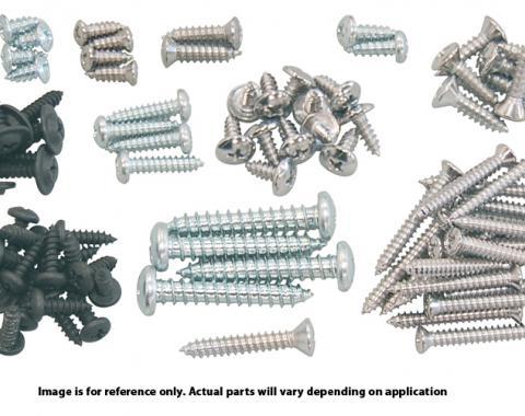 Southwest Repro Interior Trim Screw Set, 70-72 Dart Hardtop A-271025