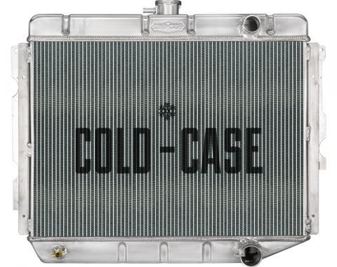 Cold Case Radiators 66-74 Mopar 17x26 A,B,C,E Body Hemi Swap Performance Aluminum Radiator MT MOP750-5