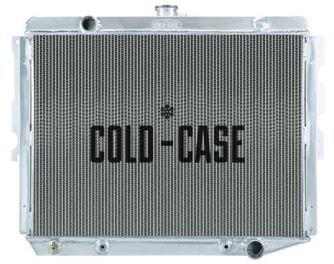 Cold Case Radiators 74-78 Mopar C-Body BB 28 Inch Aluminum Performance Radiator MOP758A-5