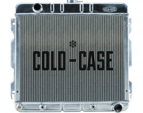 Cold Case Radiators 70-72 A,B Body SB Aluminum Performance Radiator AT 17x22 Inch MOP755A