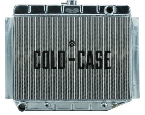 Cold Case Radiators 70-74 E Body Challenger Aluminum Performance Radiator AT 17x26 Inch MOP754A