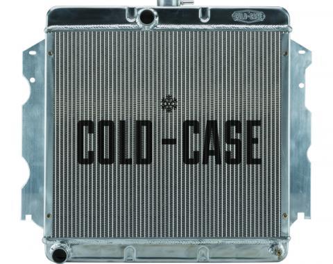 Cold Case Radiators 62-74 A,B,C,E Body SB Aluminum Performance Radiator MT 18x22 Inch MOP751