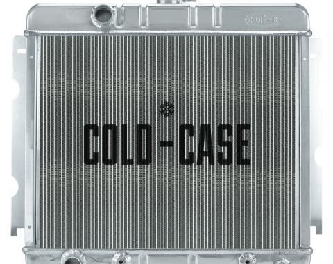Cold Case Radiators 67-69 Mopar A-Body BB Aluminum Performance Radiator MOP756A-5