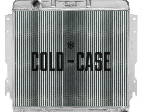 Cold Case Radiators 70-79 Dodge Van Truck w/o AC Aluminum Performance Radiator MOT560A