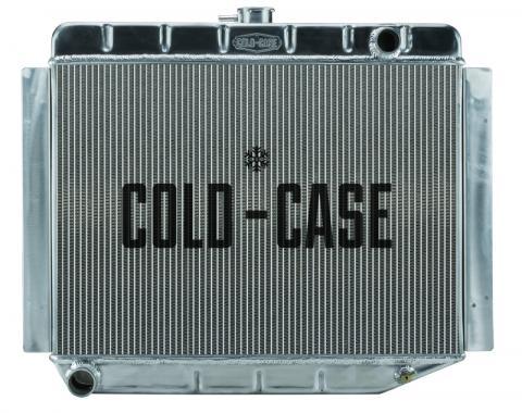 Cold Case Radiators 70-74 E Body Challenger Aluminum Performance Radiator MT 17x26 Inch MOP754