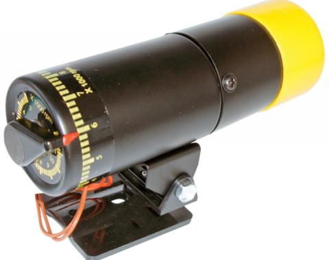 Proform RPM Shift Light, Stand Alone Adjustable Model, Black Body with Yellow Cover 67005C