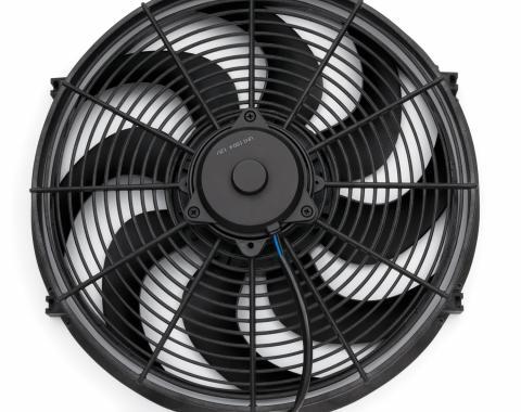 Proform Electric Radiator Fan, Universal High Perf. S-Blade Model, 16 Inch, 2100CFM 67027