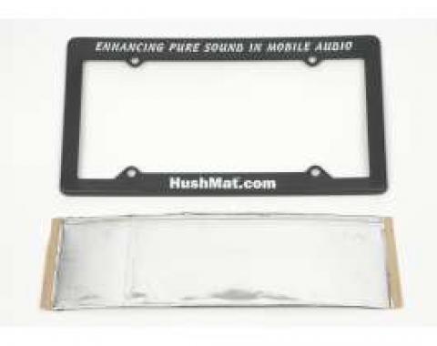Hushmat Ultra Insulation, License Plate, For Camaro, 1967-2014