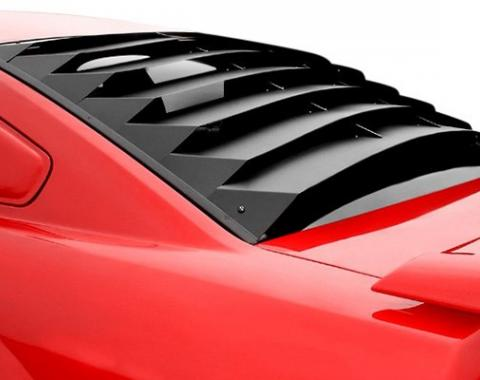 Charger Rear Window Louver, ABS, 2006-2010