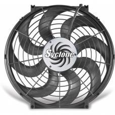 Cooling Fan, Electric, Universal, Single, 2500 CFM, S-Blade, Syclone, Flex-a-lite