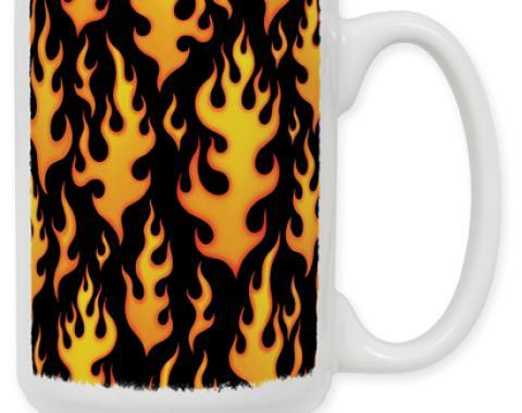 Flames Coffee Mug