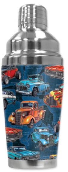 Mugzie Cocktail Shaker, Hot Or Cold, Hot Rod Trucks