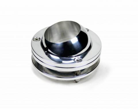 ididit Floor Mount Swivel Ball Polished 2 1/4 for Chrome Column 2402550040